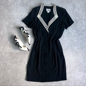 Vintage Button-Up Dress